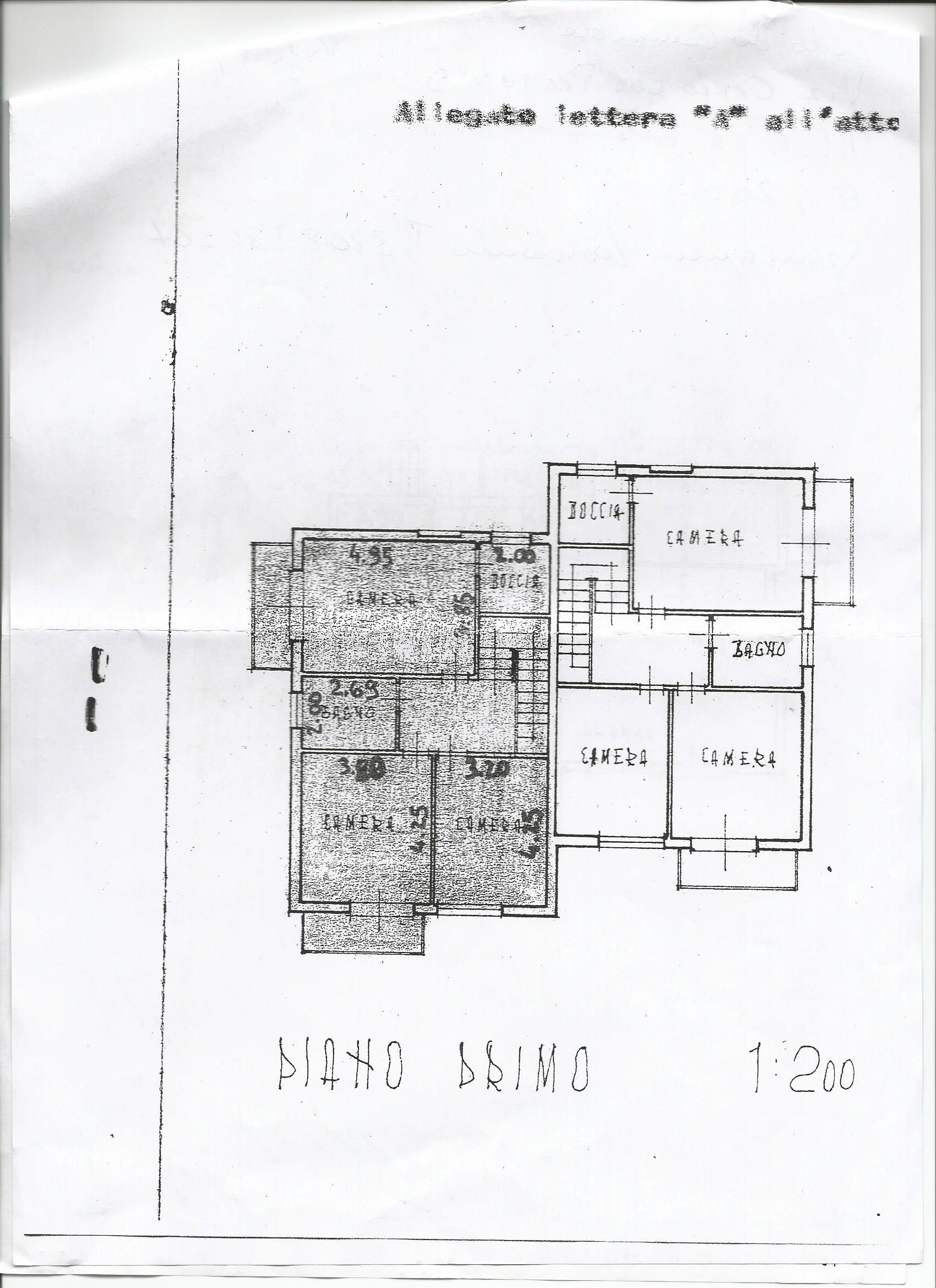 Planimetria 2/2 per rif. 3298LC