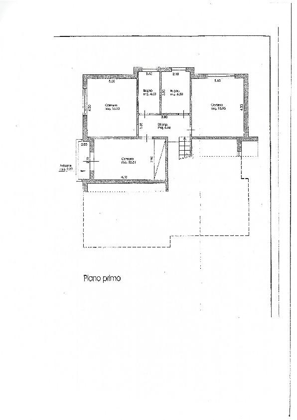 Planimetria 2/3 per rif. 3308LC
