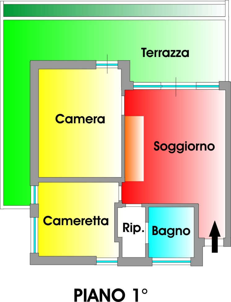 Planimetria 1/1 per rif. 3307V2
