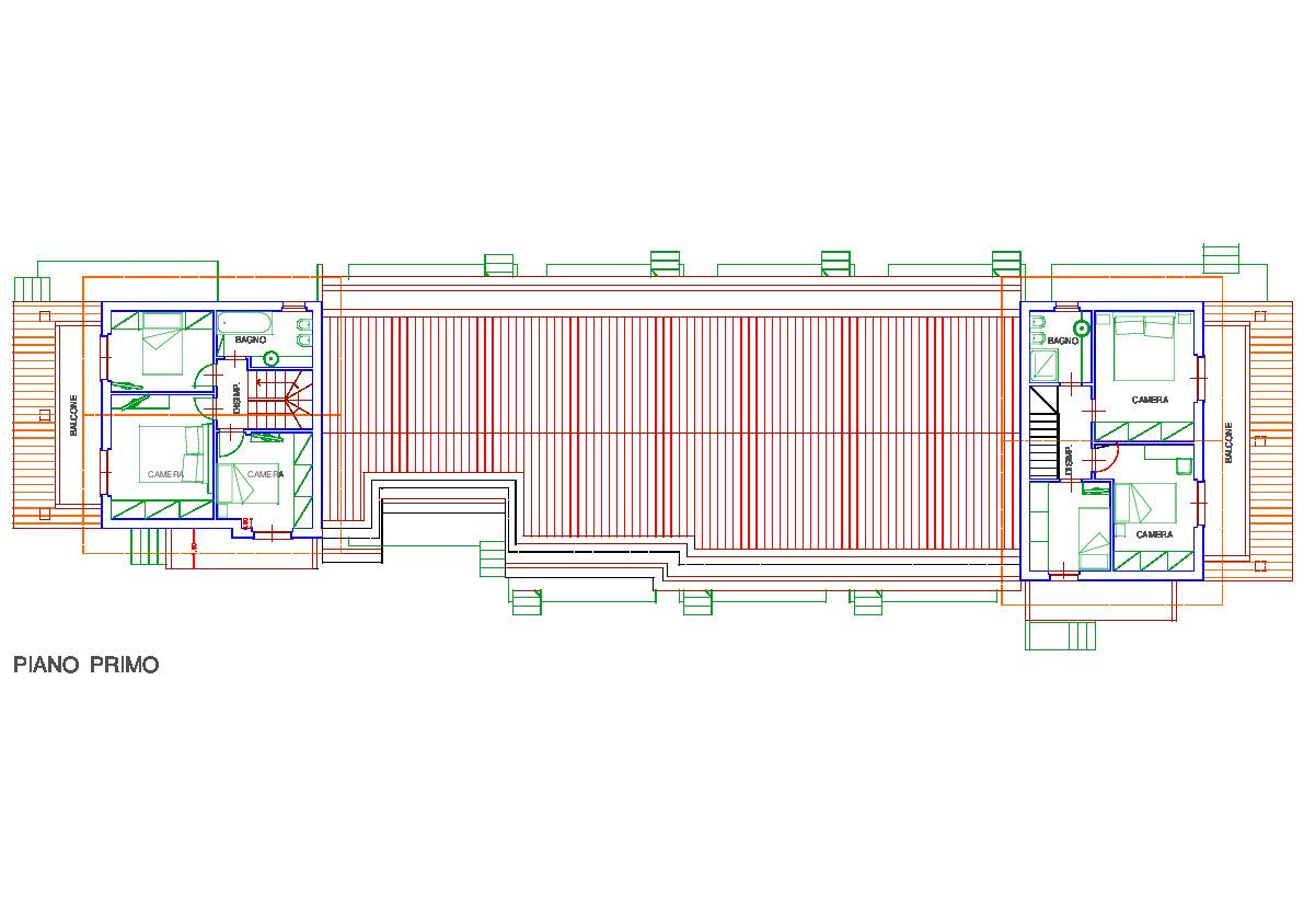 Planimetria 2/5 per rif. 3302CP