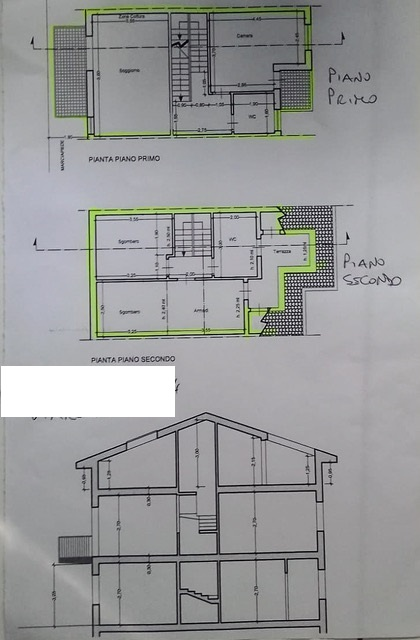 Planimetria 1/1 per rif. 3241V3