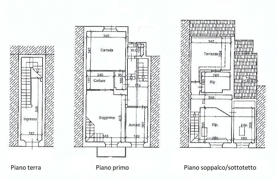 Planimetria 1/1 per rif. 3323V3