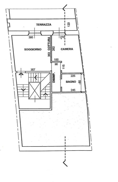 Planimetria 1/1 per rif. 3329V3