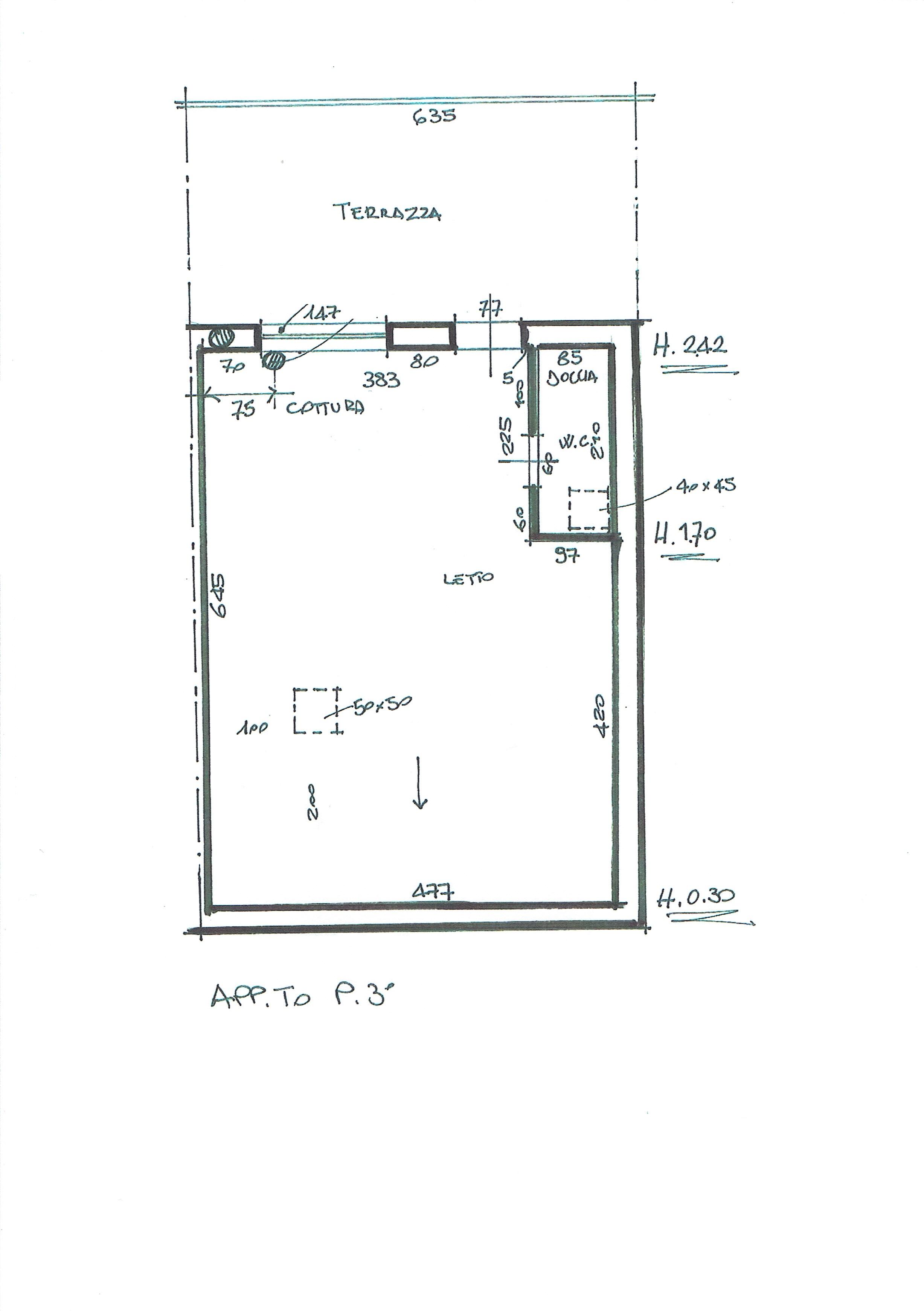 Planimetria 1/2 per rif. 3335V5