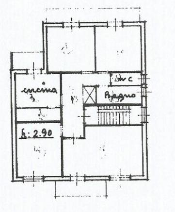 Planimetria 1/1 per rif. 3336LC