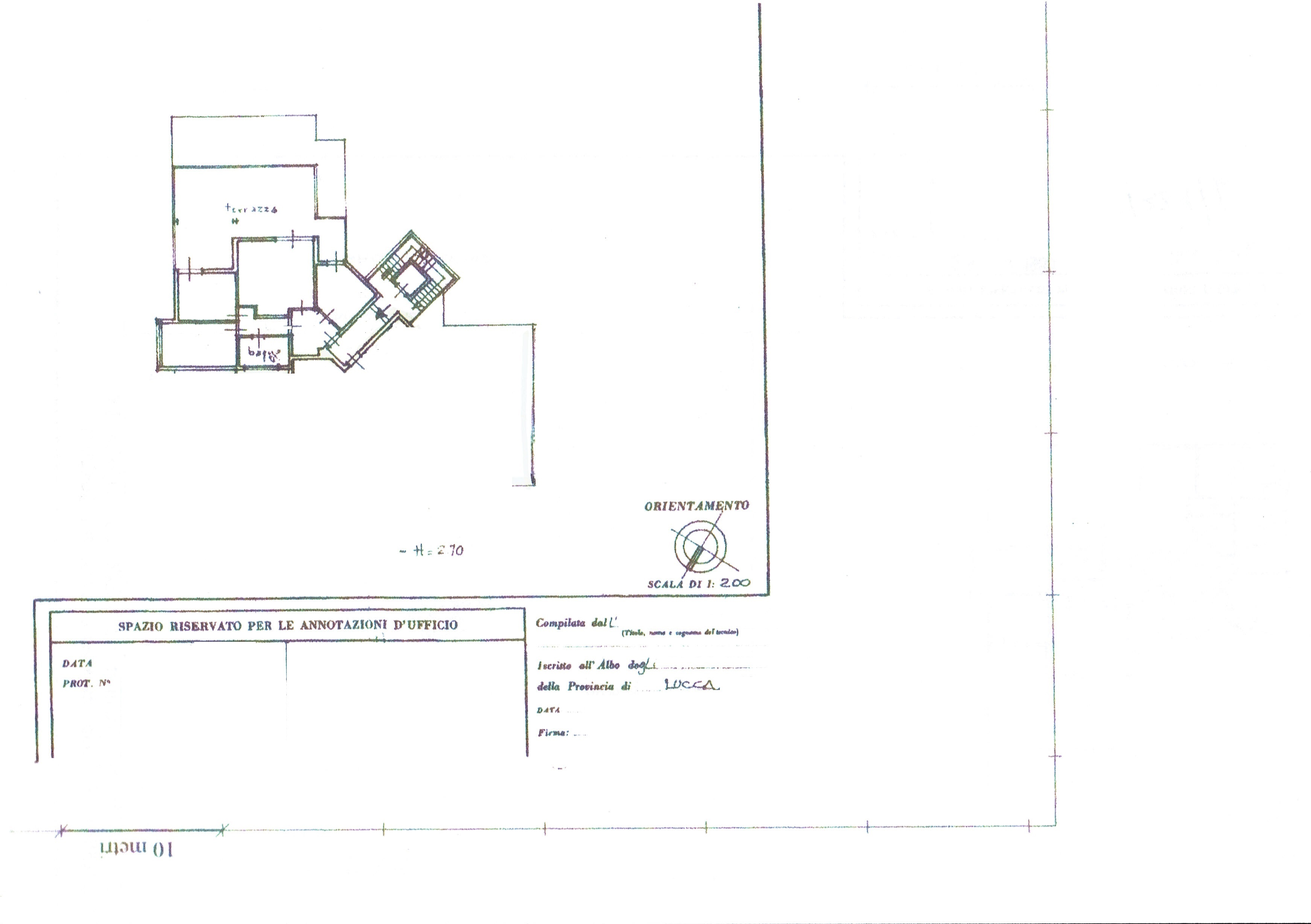 Planimetria 1/1 per rif. 3338V2
