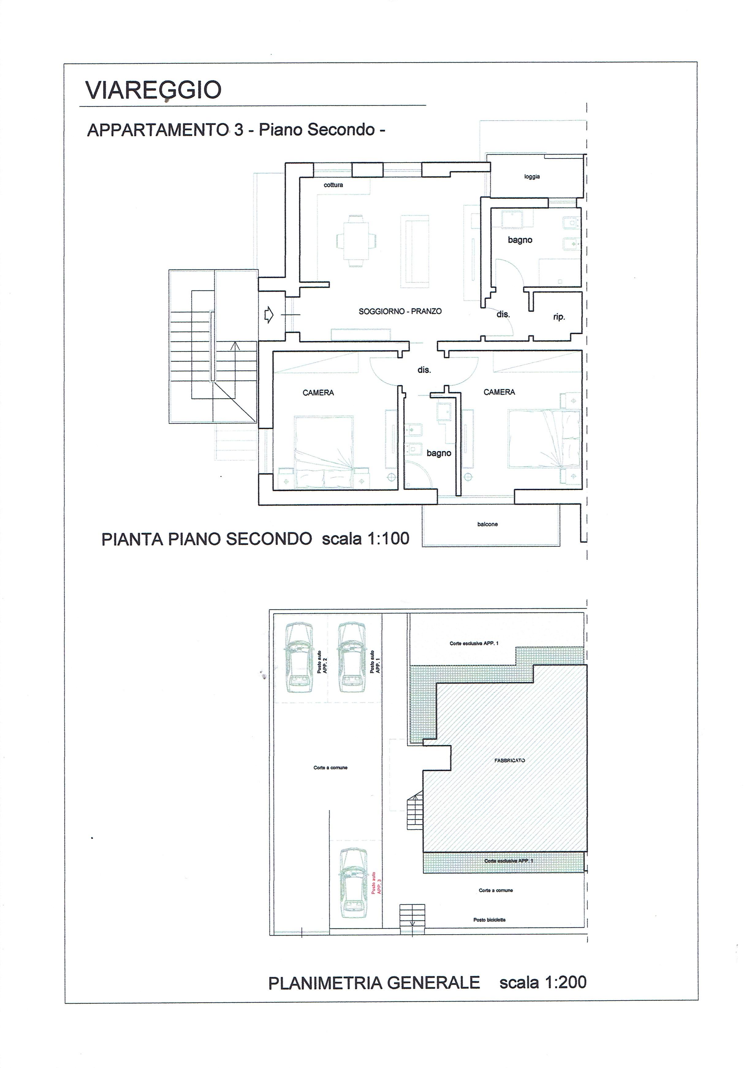 Planimetria 1/1 per rif. 3331V5