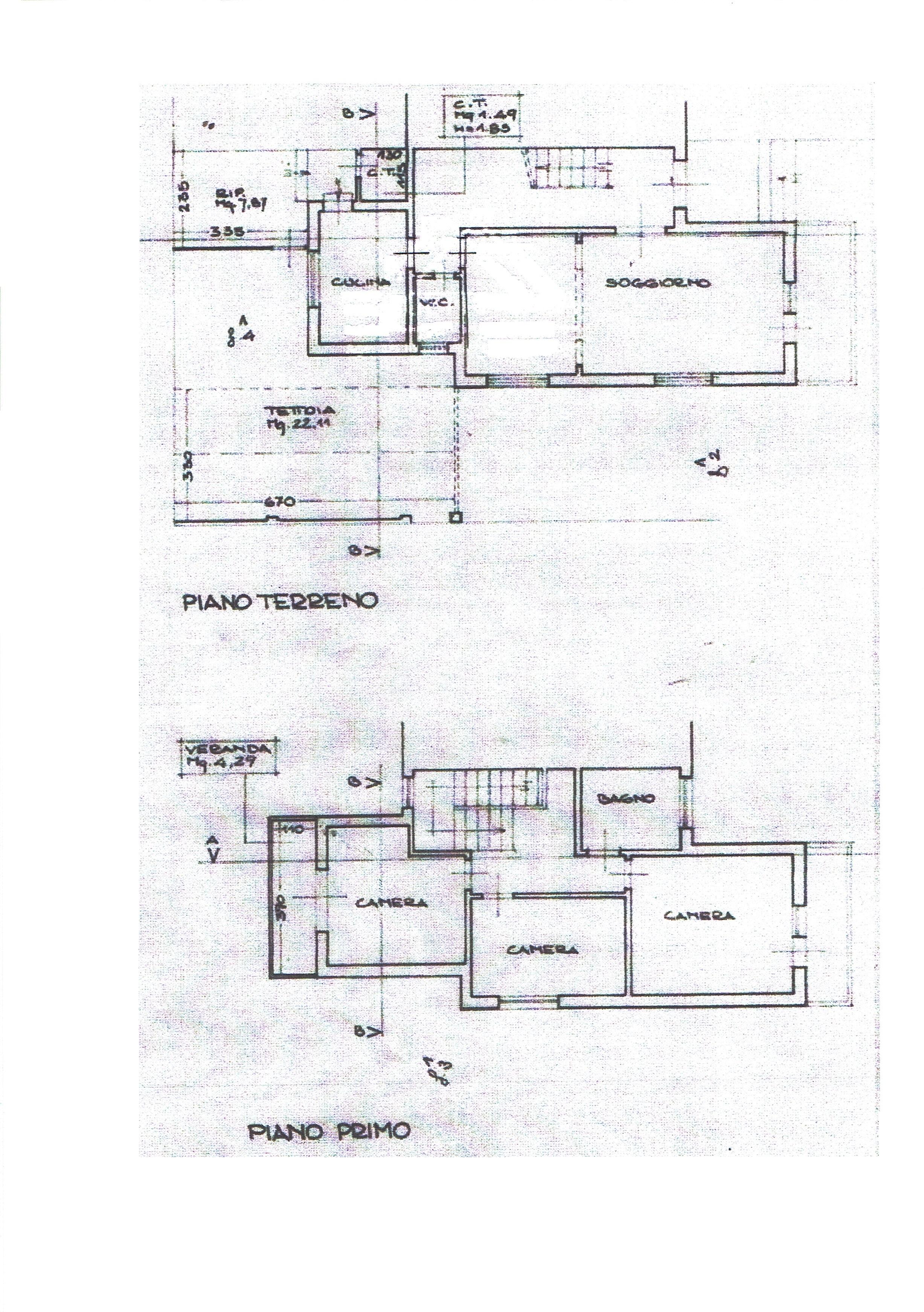 Planimetria 1/1 per rif. 3355LC