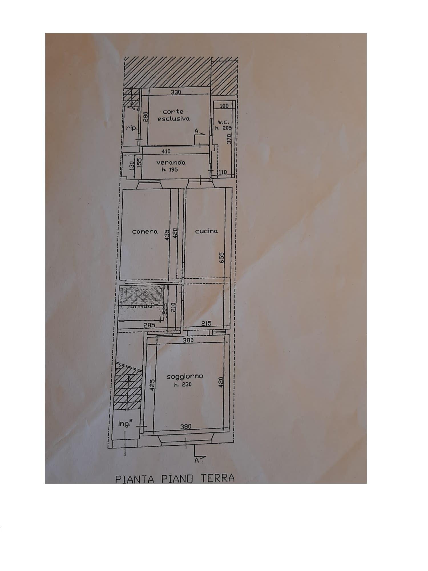 Planimetria 1/1 per rif. 3359V3