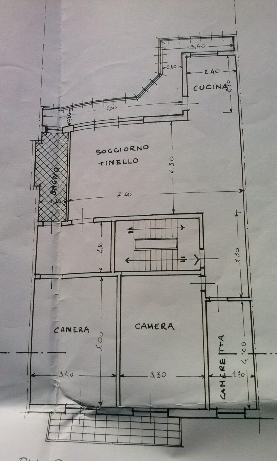 Planimetria 1/1 per rif. 3358V3