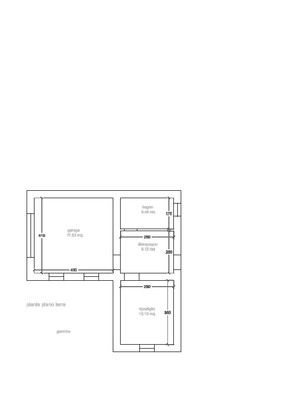 Planimetria 3/3 per rif. 3347P2