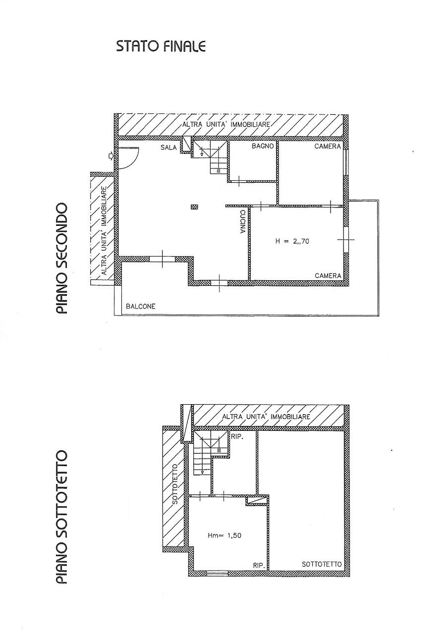 Planimetria 1/1 per rif. 3361V5