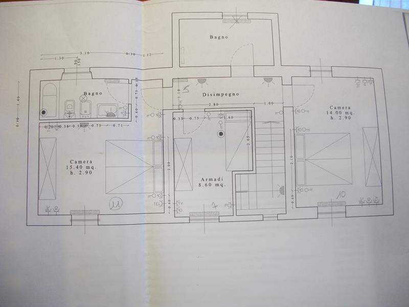 Planimetria 2/2 per rif. 3374CP