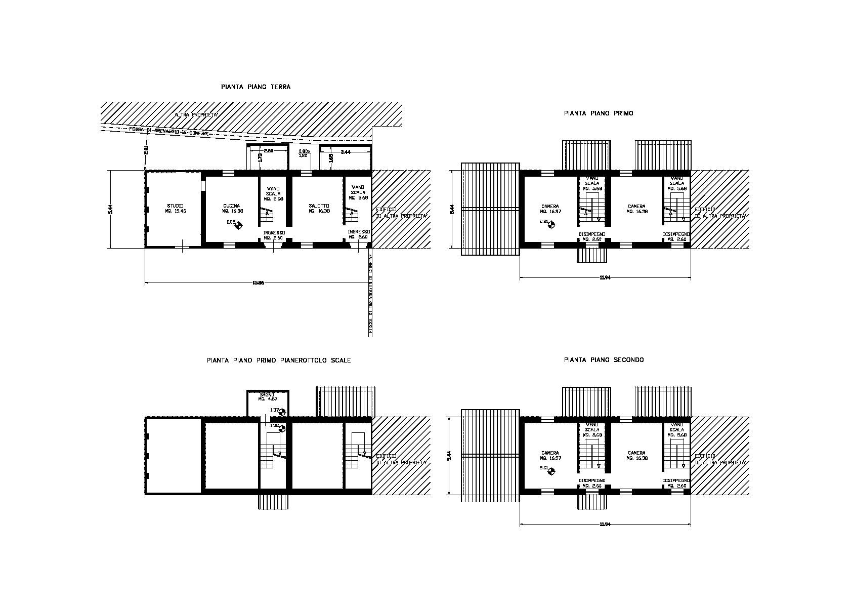 Planimetria 1/1 per rif. 3372CP