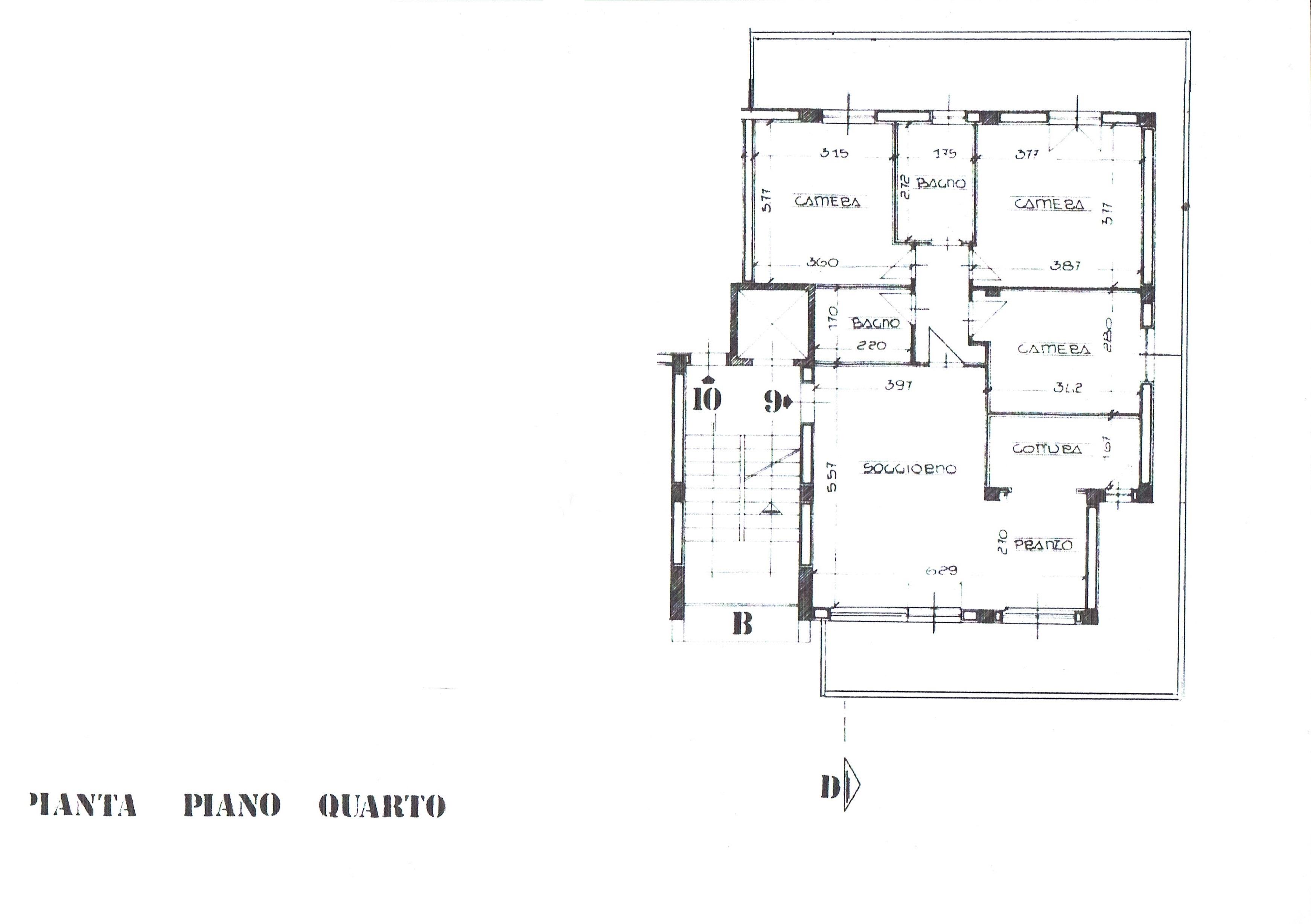 Planimetria 1/2 per rif. 3375V2