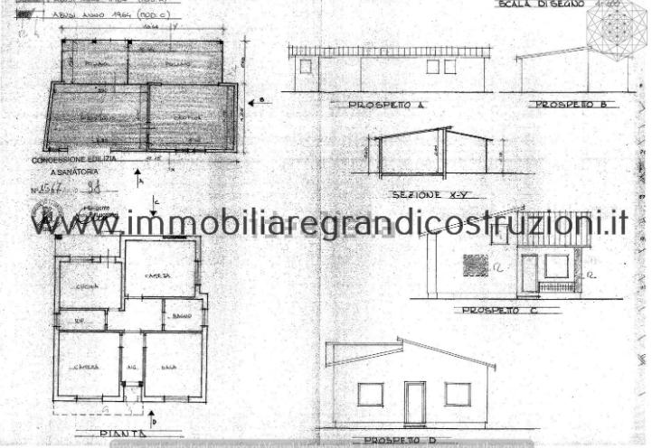 Planimetria 1/1 per rif. 3278CP