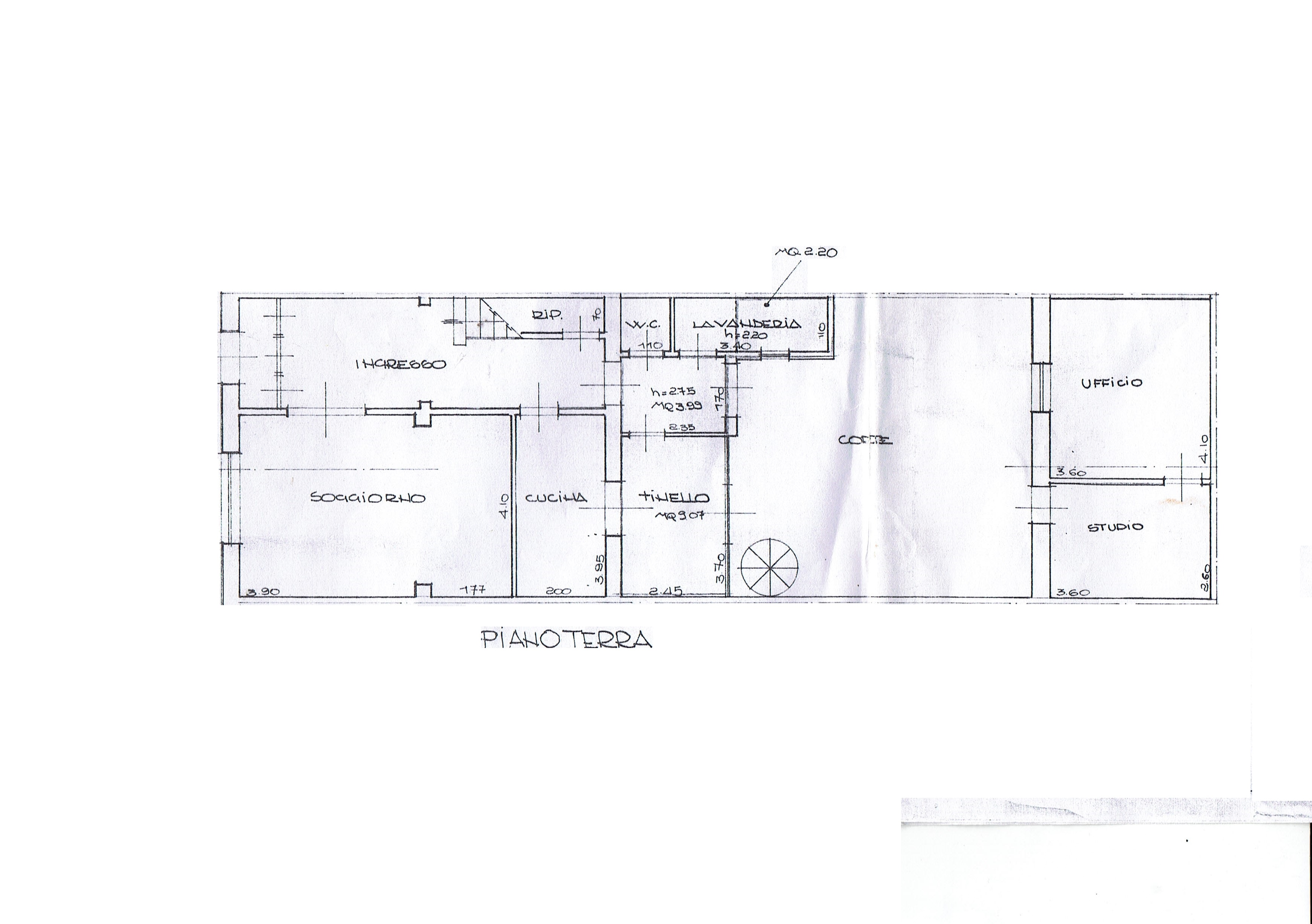 Planimetria 1/6 per rif. 3369V5