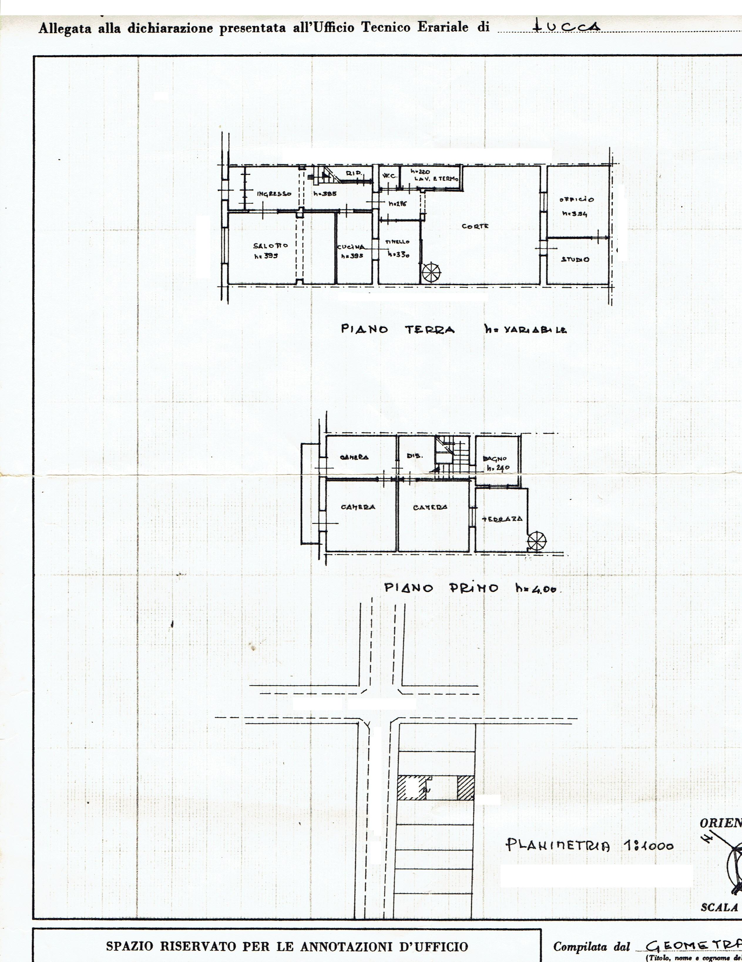 Planimetria 6/6 per rif. 3369V5