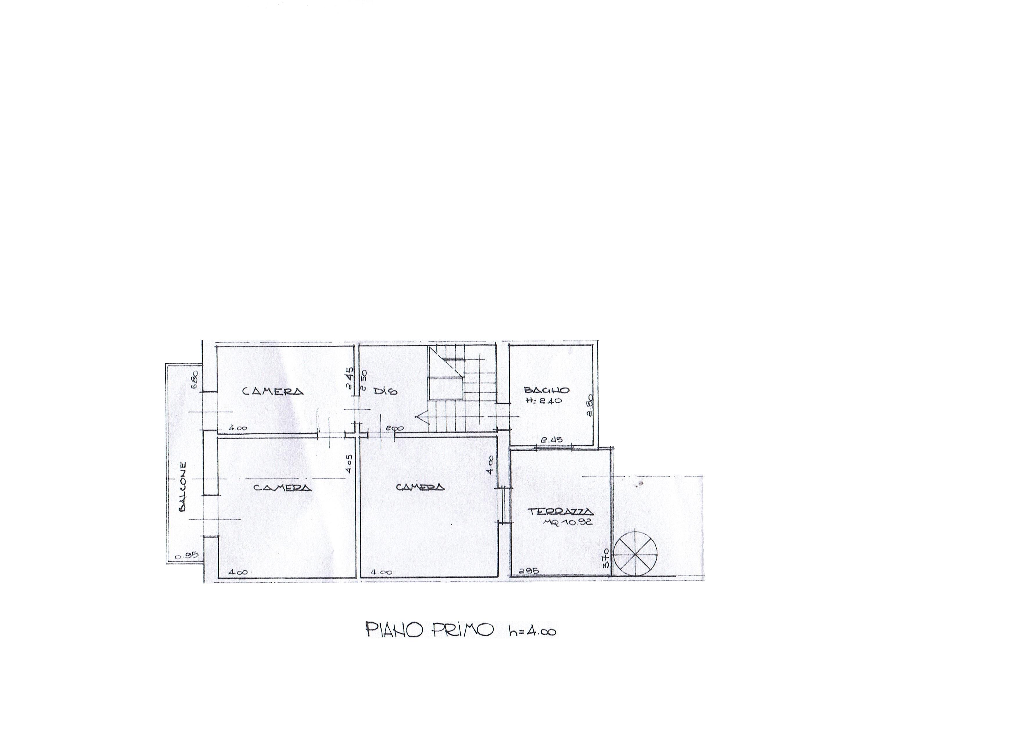 Planimetria 2/6 per rif. 3369V5