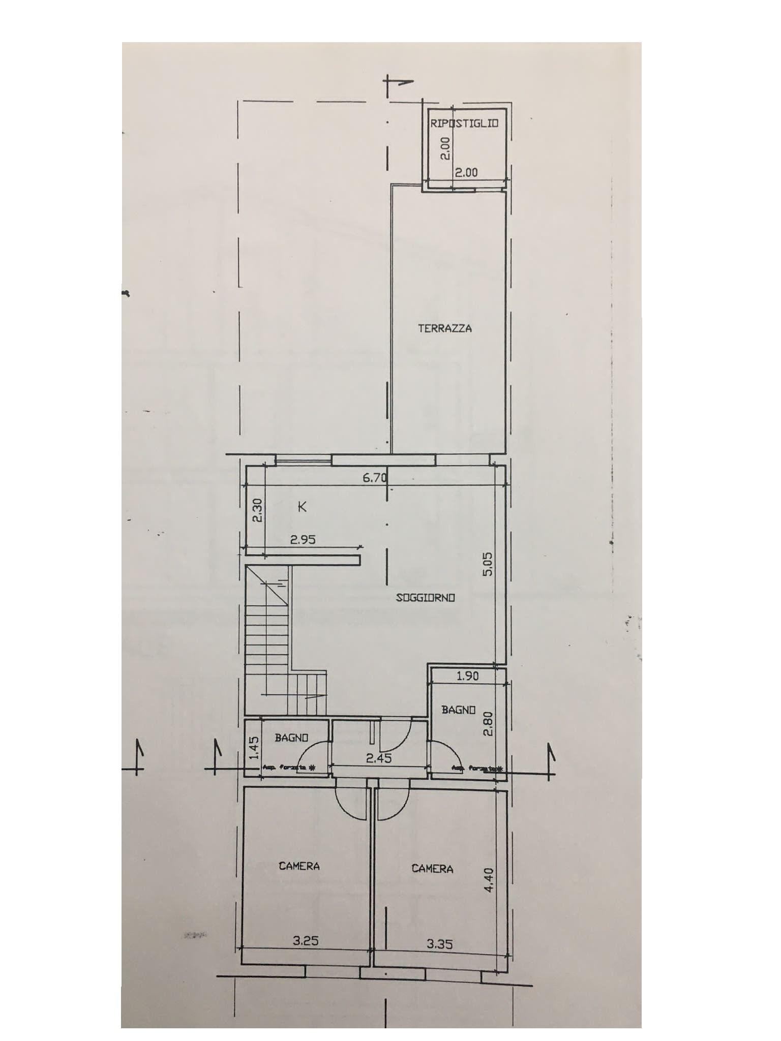 Planimetria 1/1 per rif. 3385V2