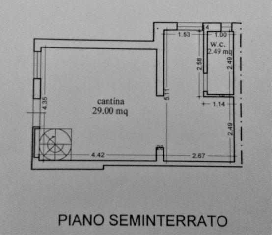 Planimetria 2/2 per rif. 3386LC