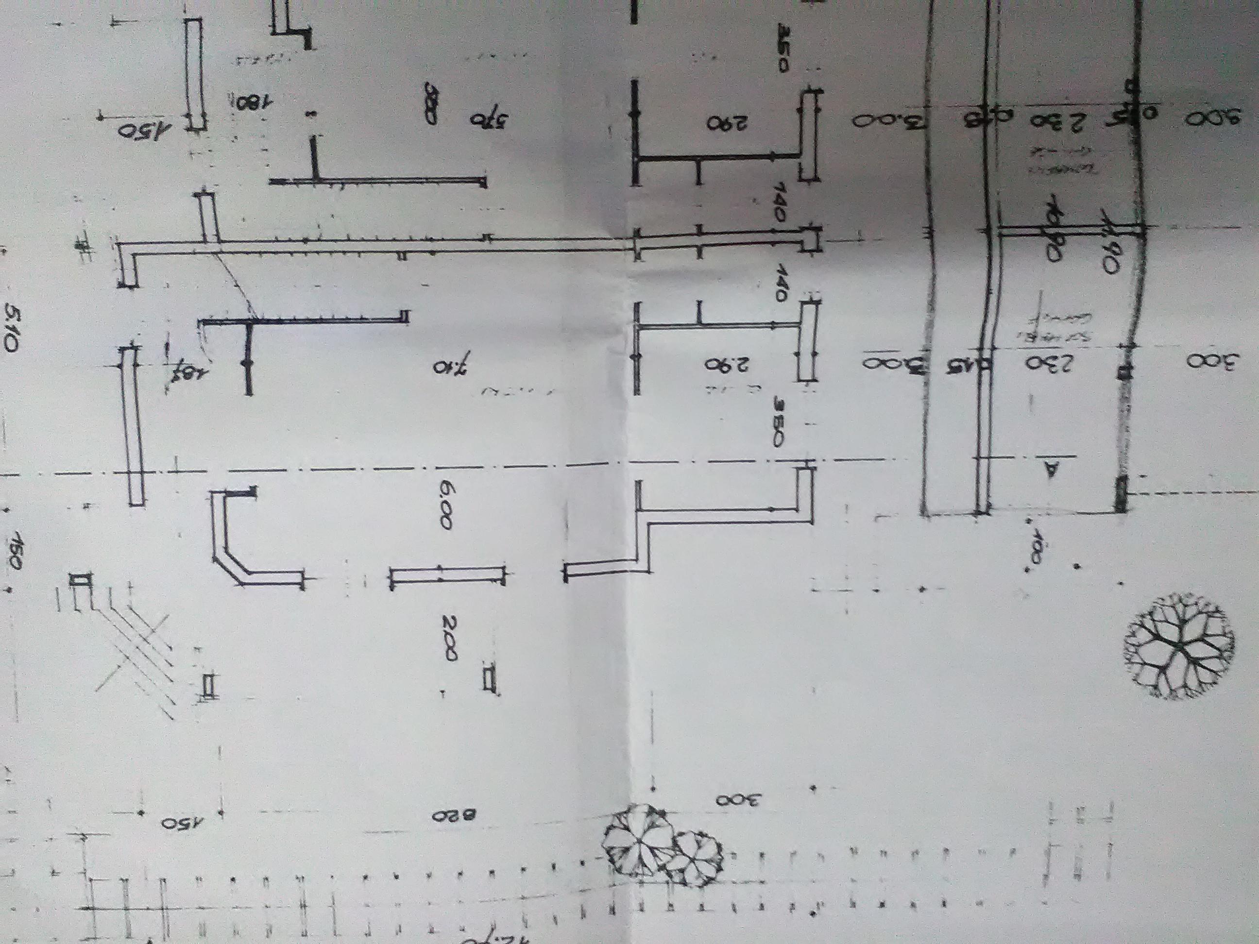 Planimetria 1/4 per rif. 2803V5