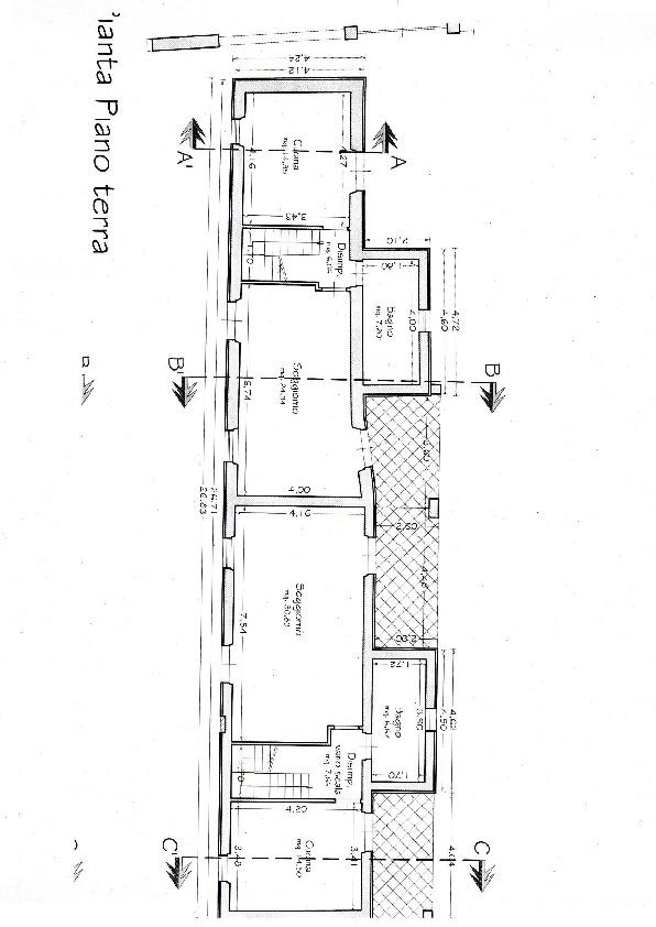 Planimetria 2/2 per rif. 3391CP