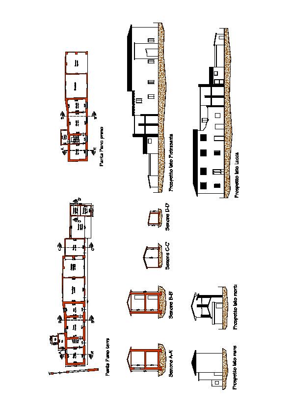 Planimetria 1/2 per rif. 3391CP