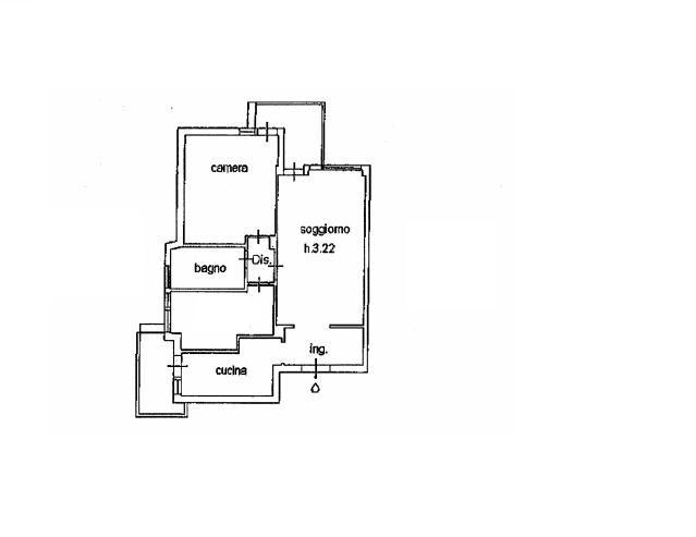 Planimetria 1/2 per rif. 3389V2