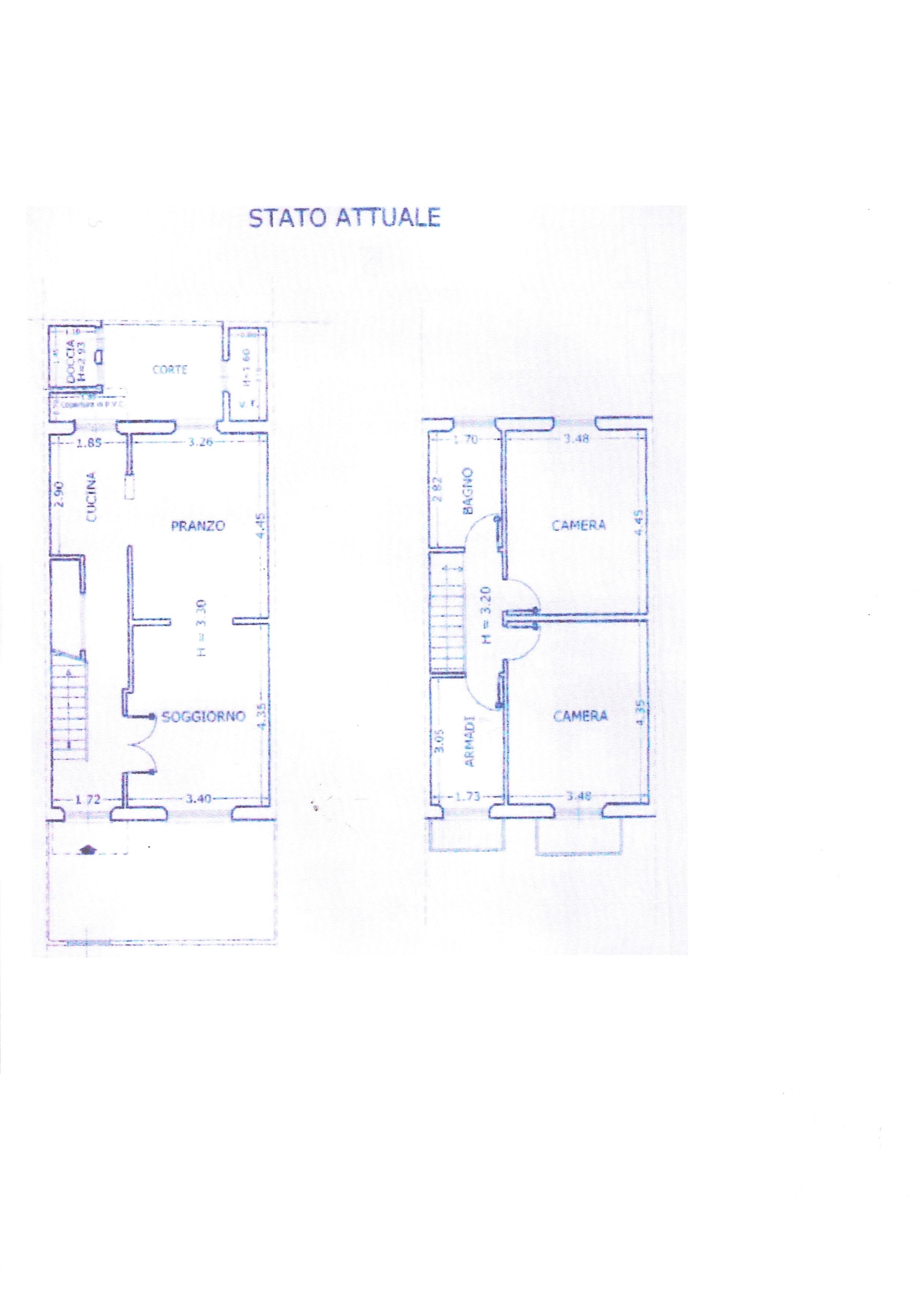 Planimetria 1/1 per rif. 3377V3