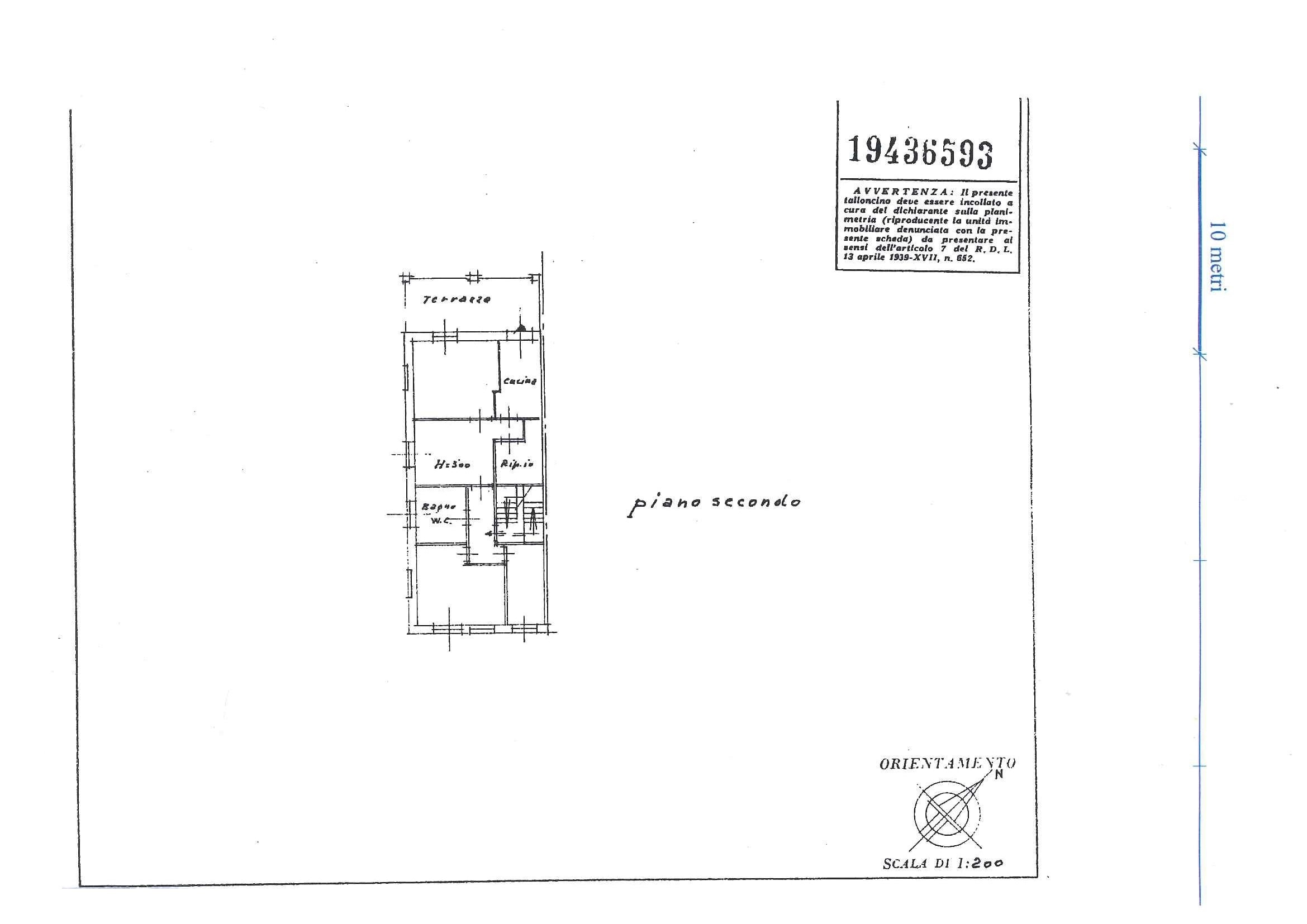 Planimetria 1/1 per rif. 3202V2