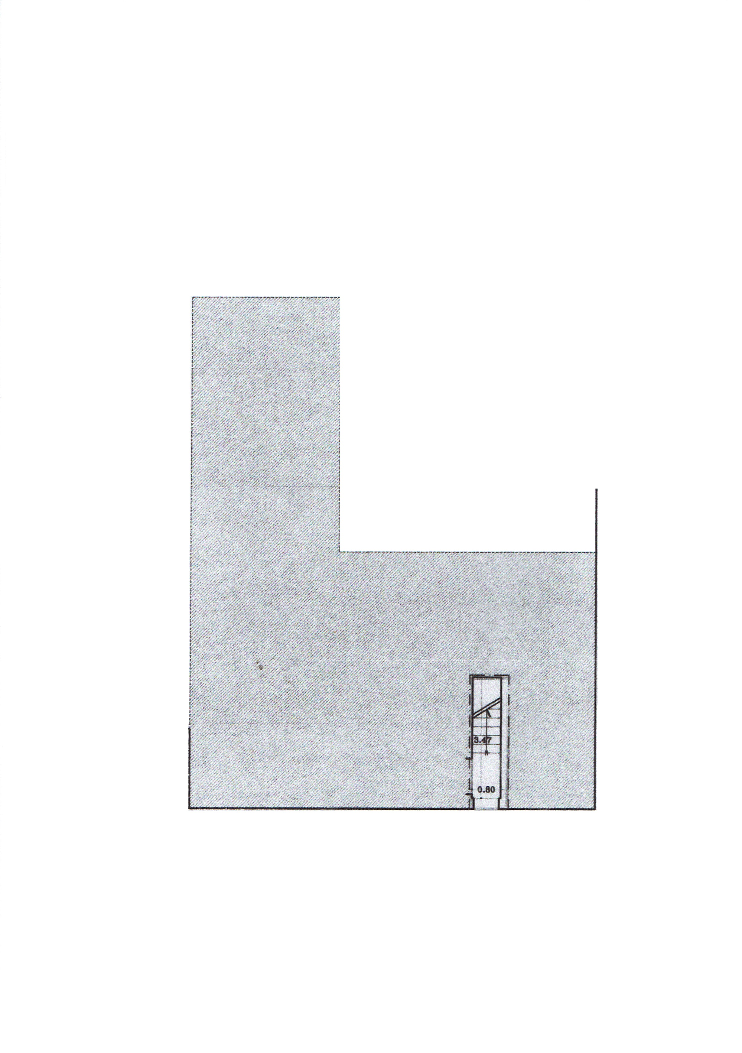 Planimetria 1/4 per rif. 3414V3