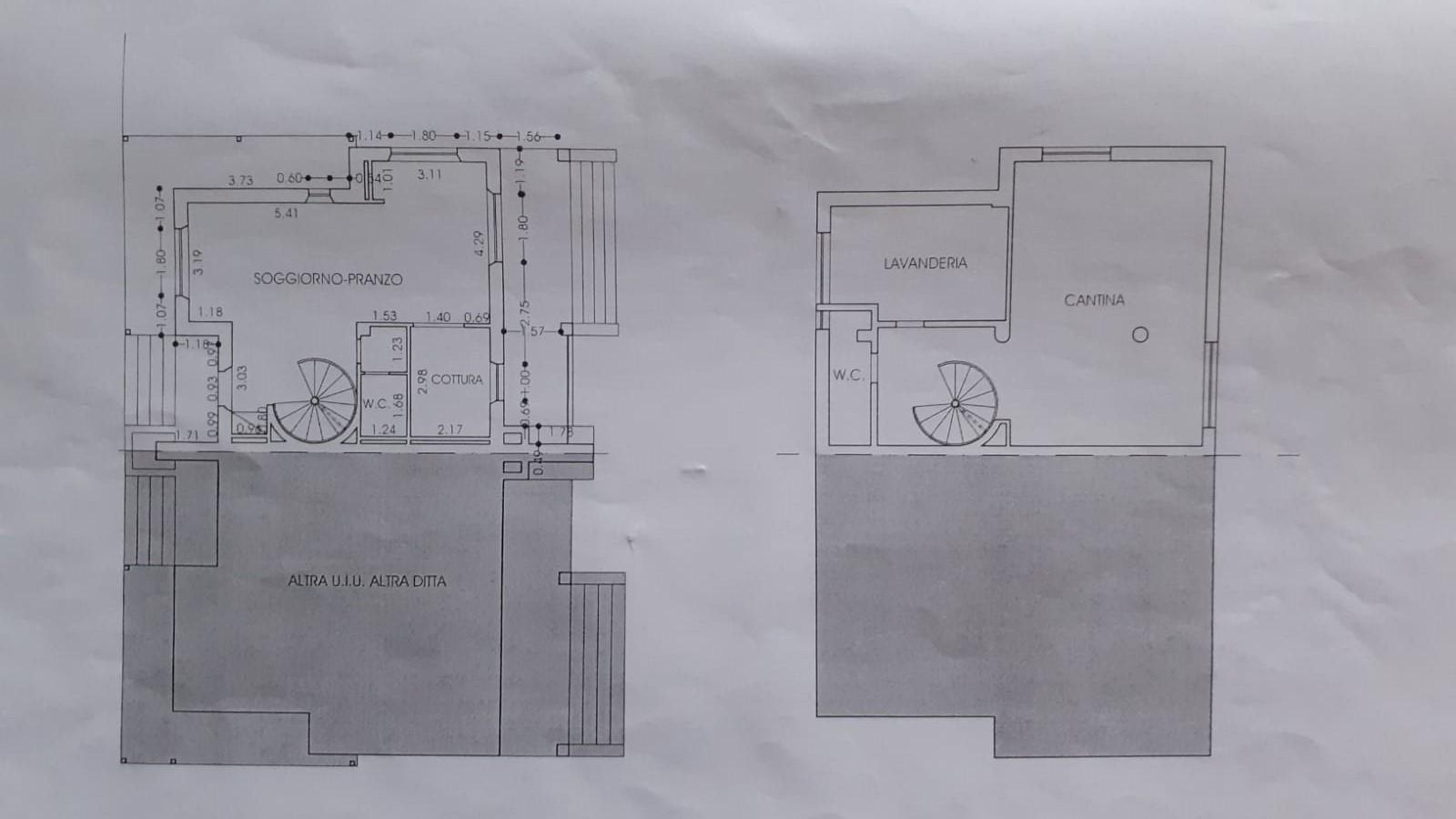 Planimetria 1/2 per rif. 3426LC