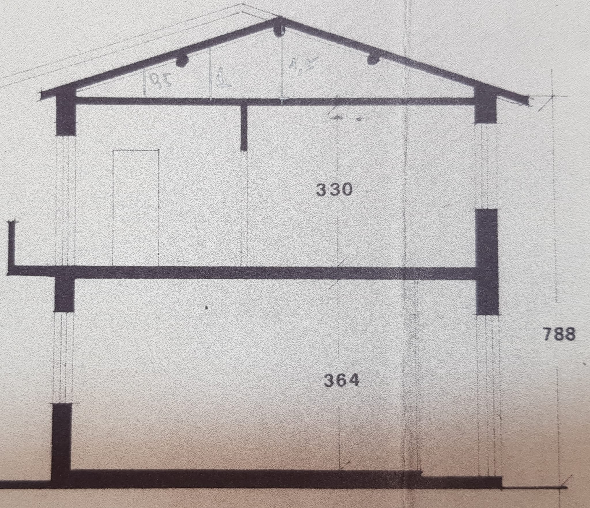 Planimetria 2/3 per rif. 3430V3