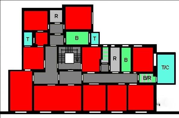 Planimetria 1/1 per rif. B57