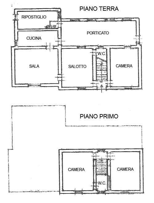 Planimetria 1/1 per rif. C1298