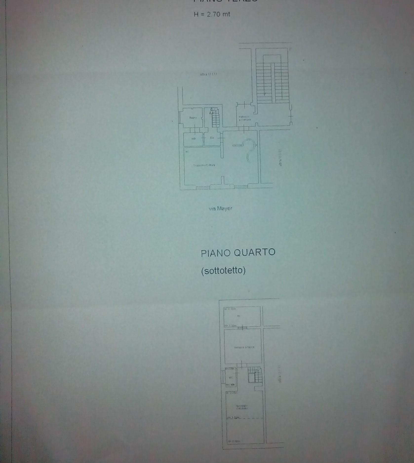 Planimetria 1/1 per rif. C1420