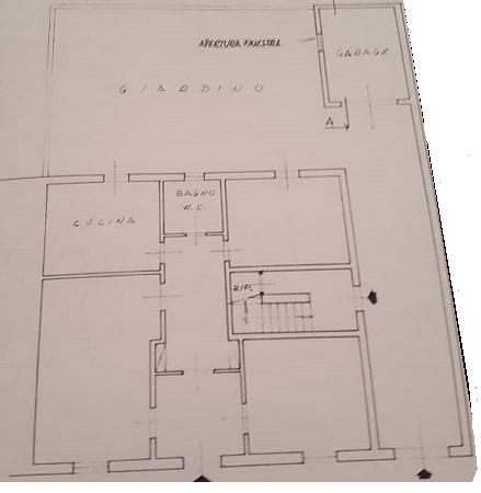Planimetria 1/1 per rif. C1518