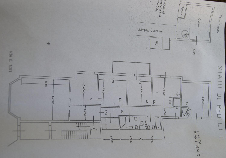 Planimetria 1/1 per rif. c399