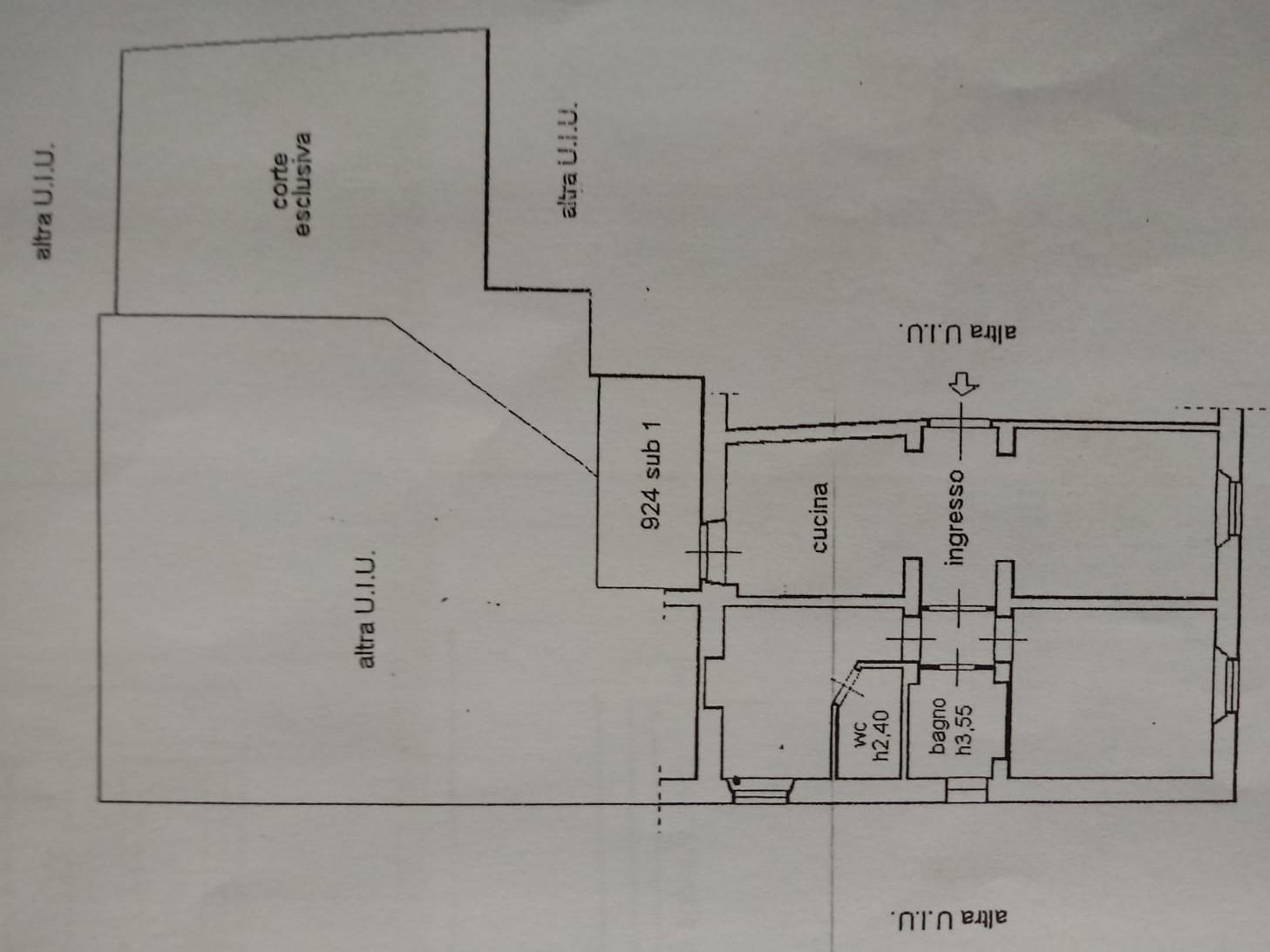 Planimetria 1/1 per rif. L02