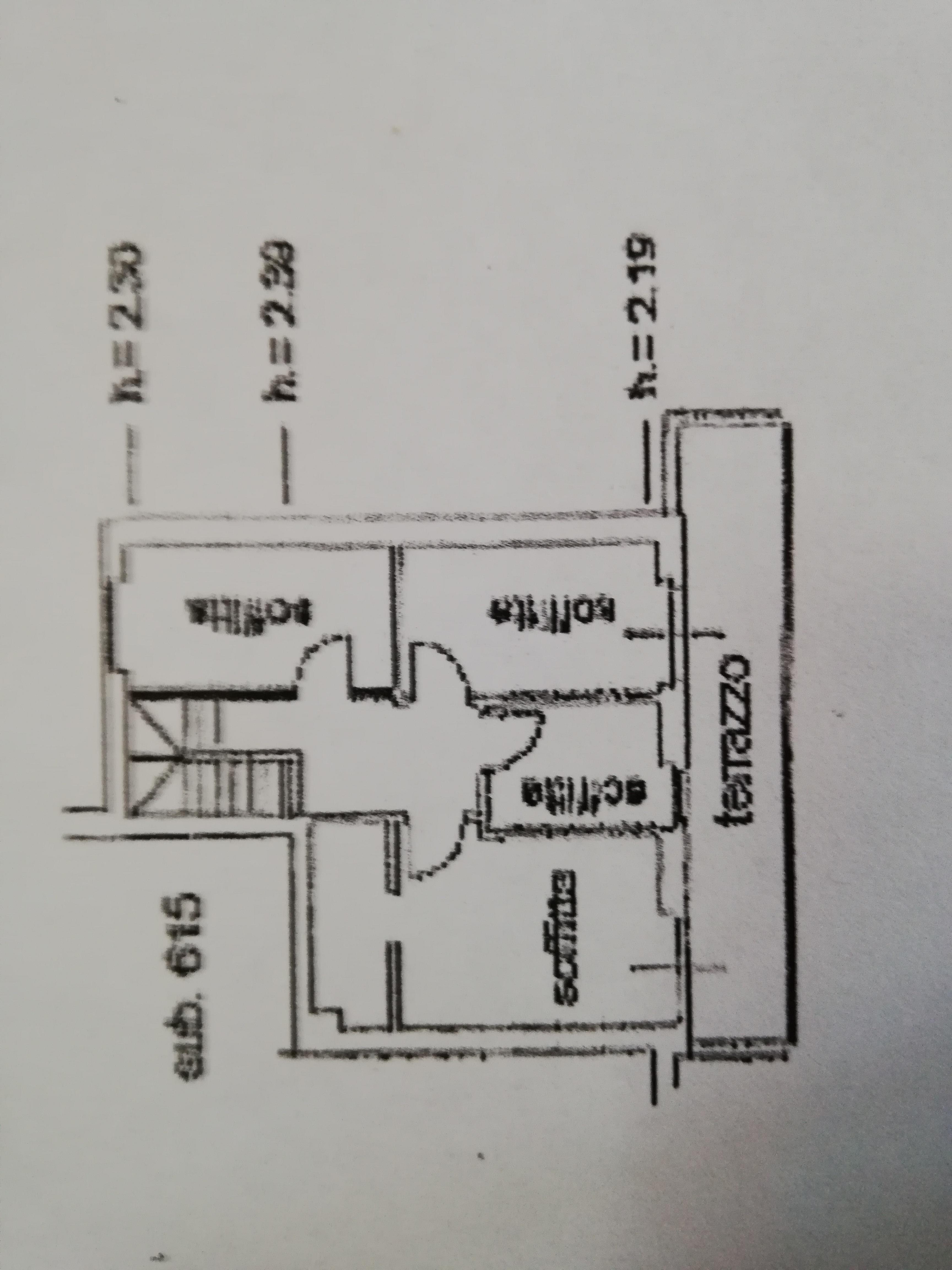 Planimetria 2/2 per rif. C1574