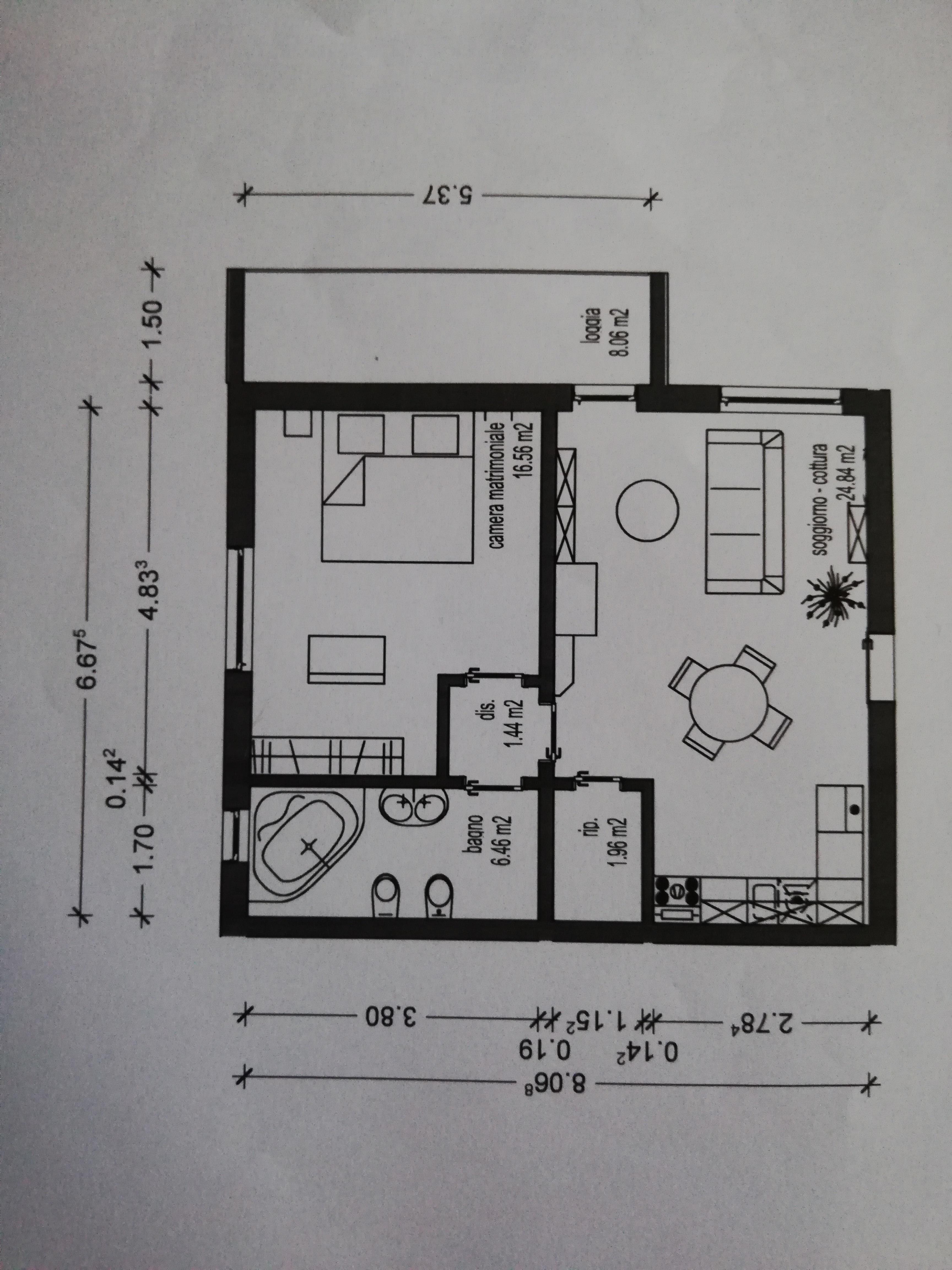 Planimetria 2/2 per rif. lebio04