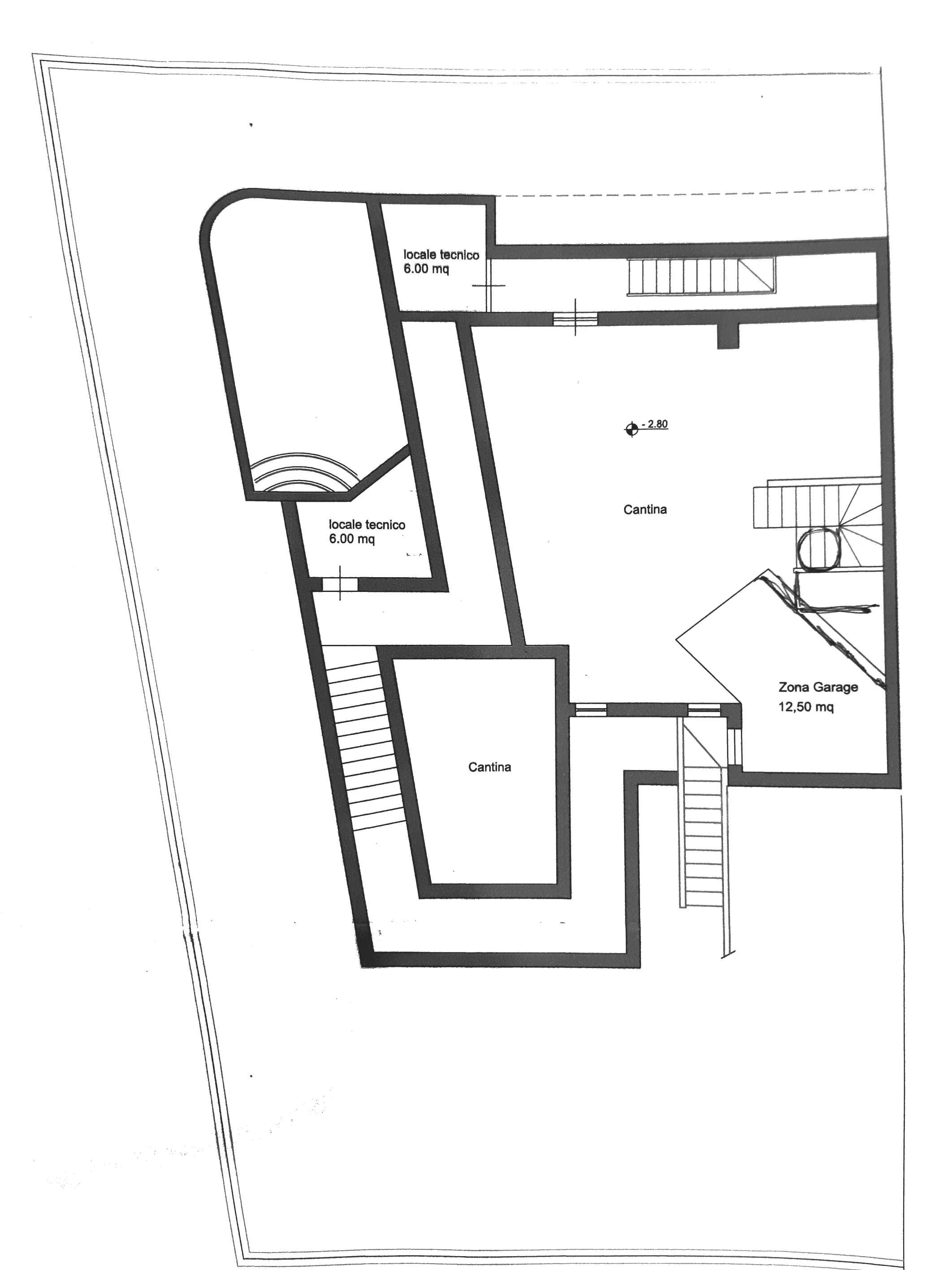 Planimetria 2/3 per rif. L057