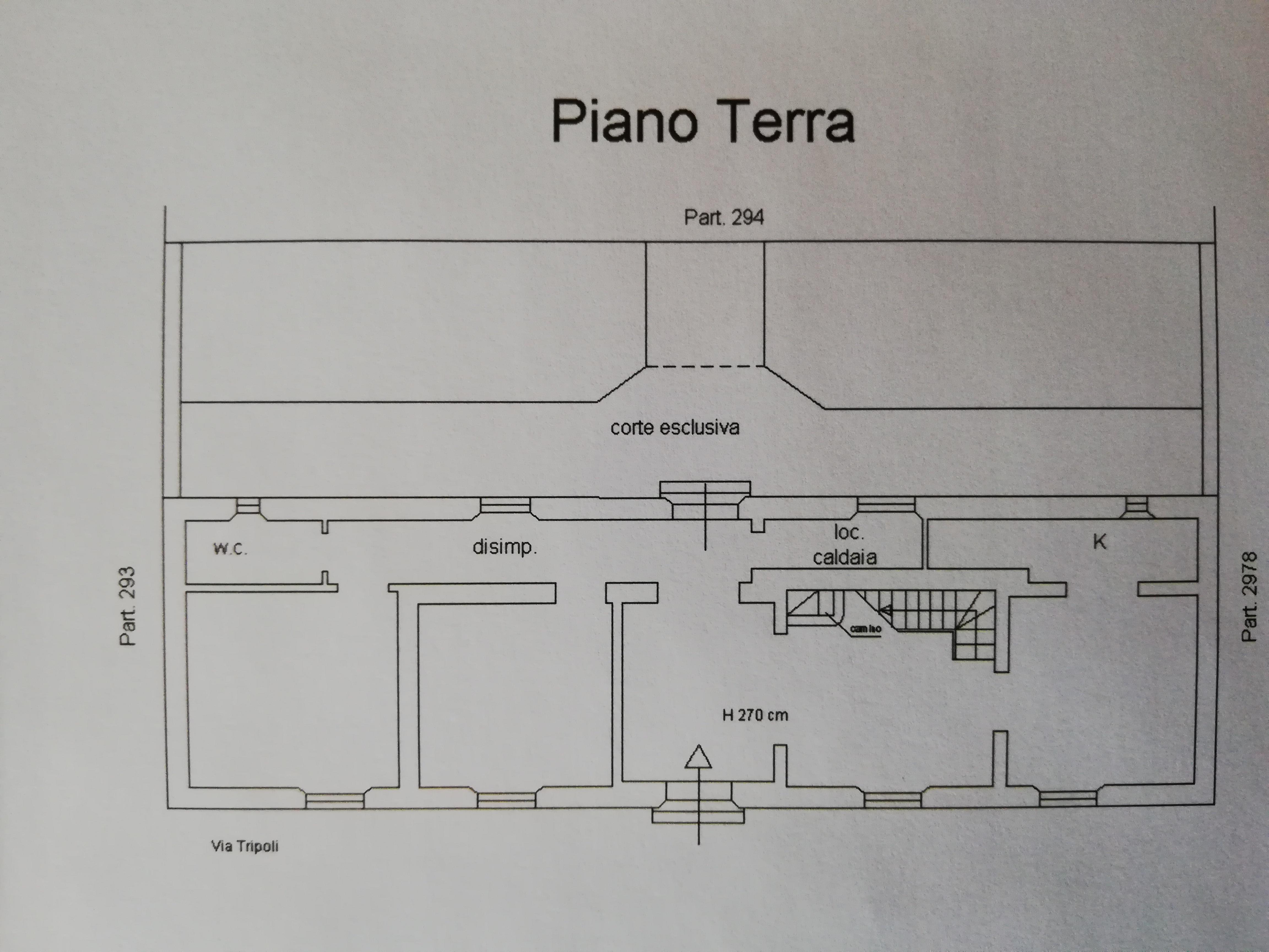 Planimetria 1/2 per rif. IL02