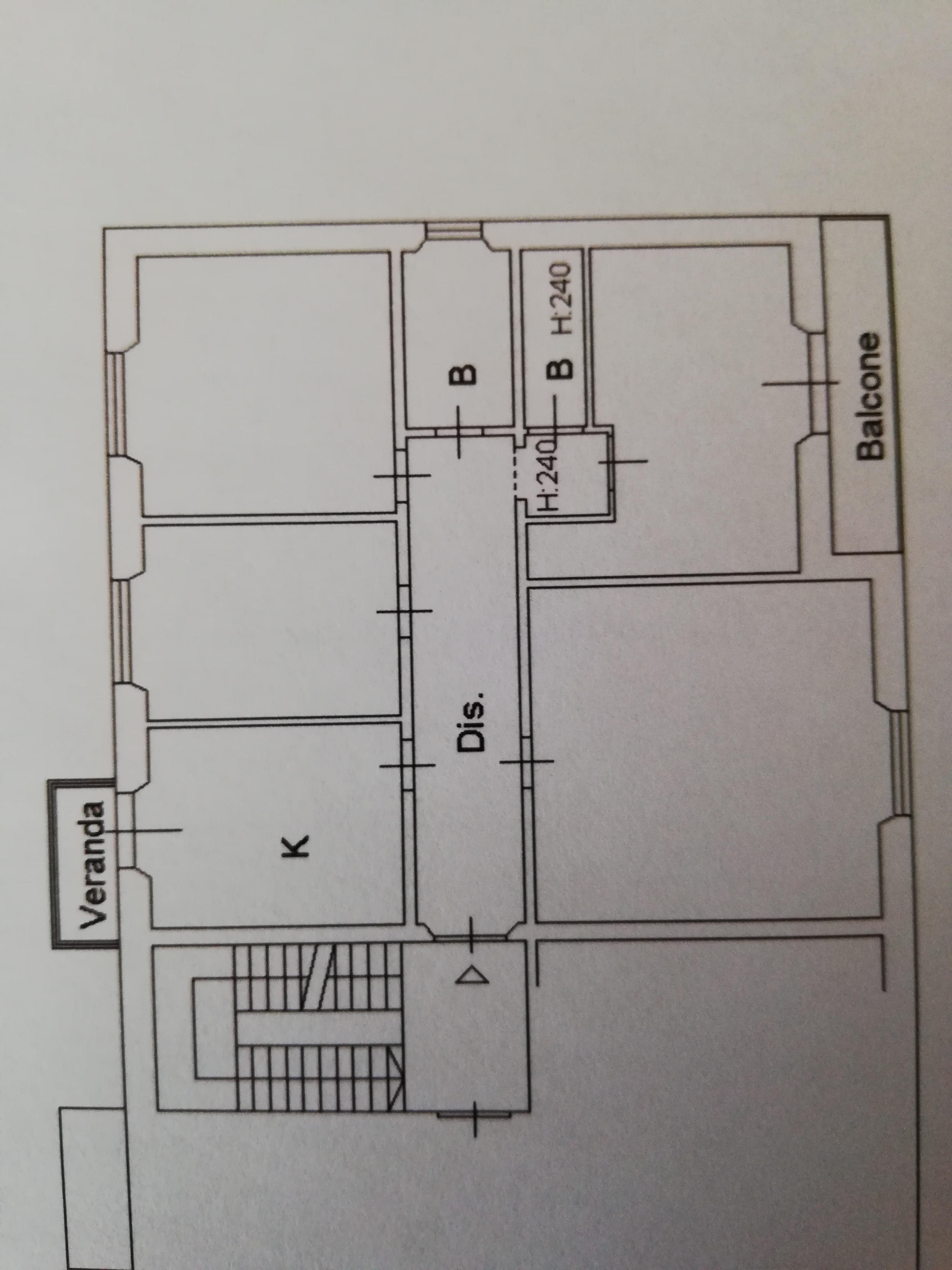 Planimetria 1/1 per rif. C1592