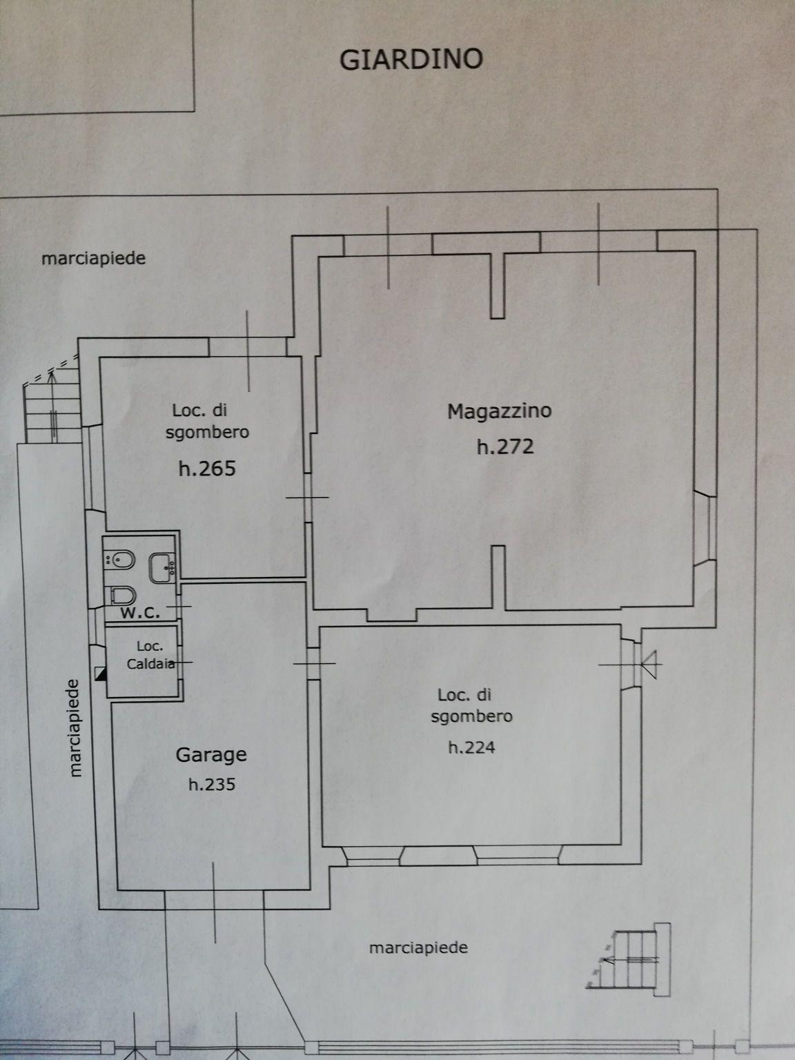 Planimetria 2/2 per rif. C1593