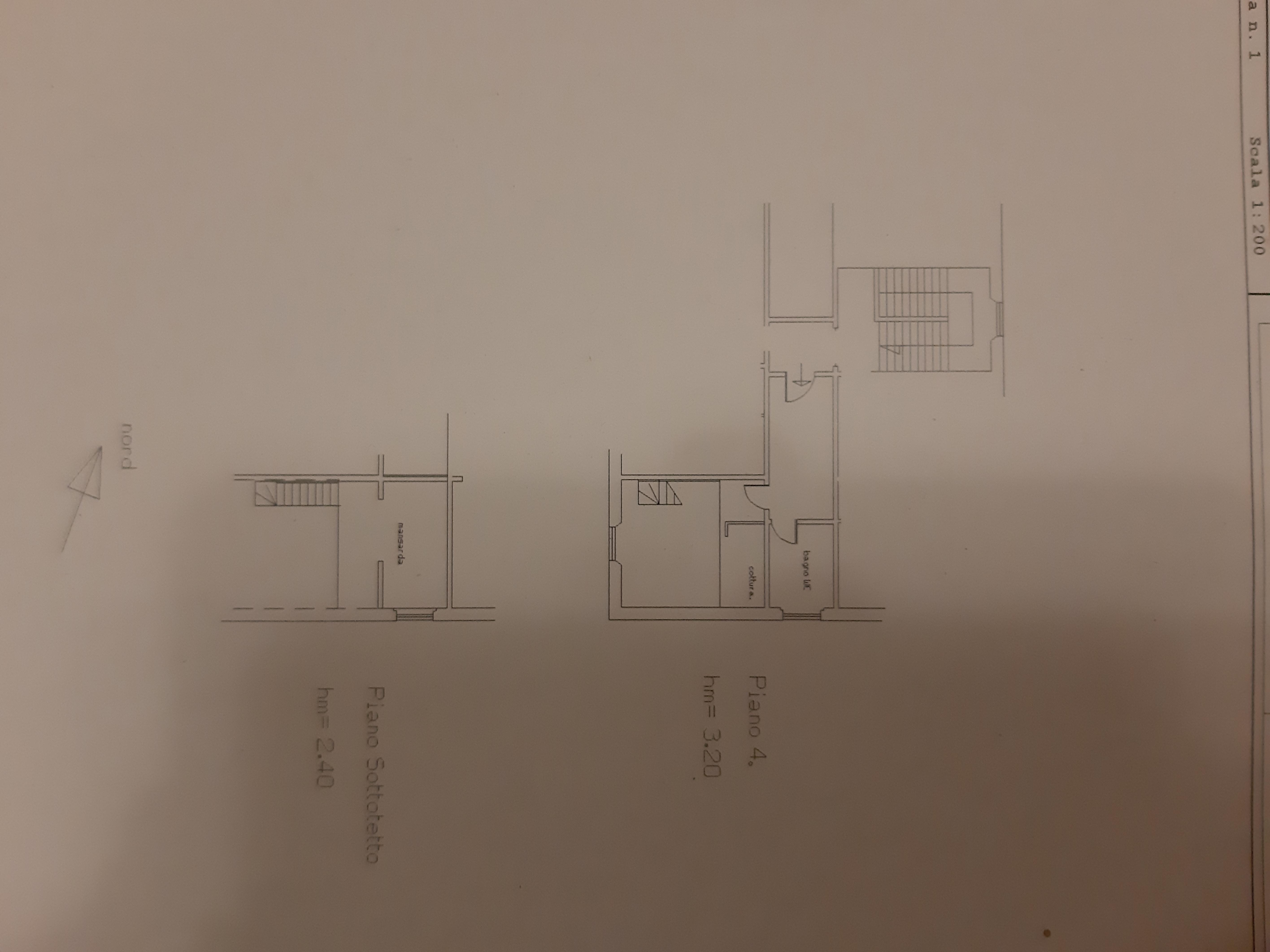 Planimetria 1/1 per rif. L072