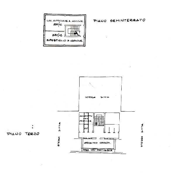 Planimetria 1/1 per rif. C1606