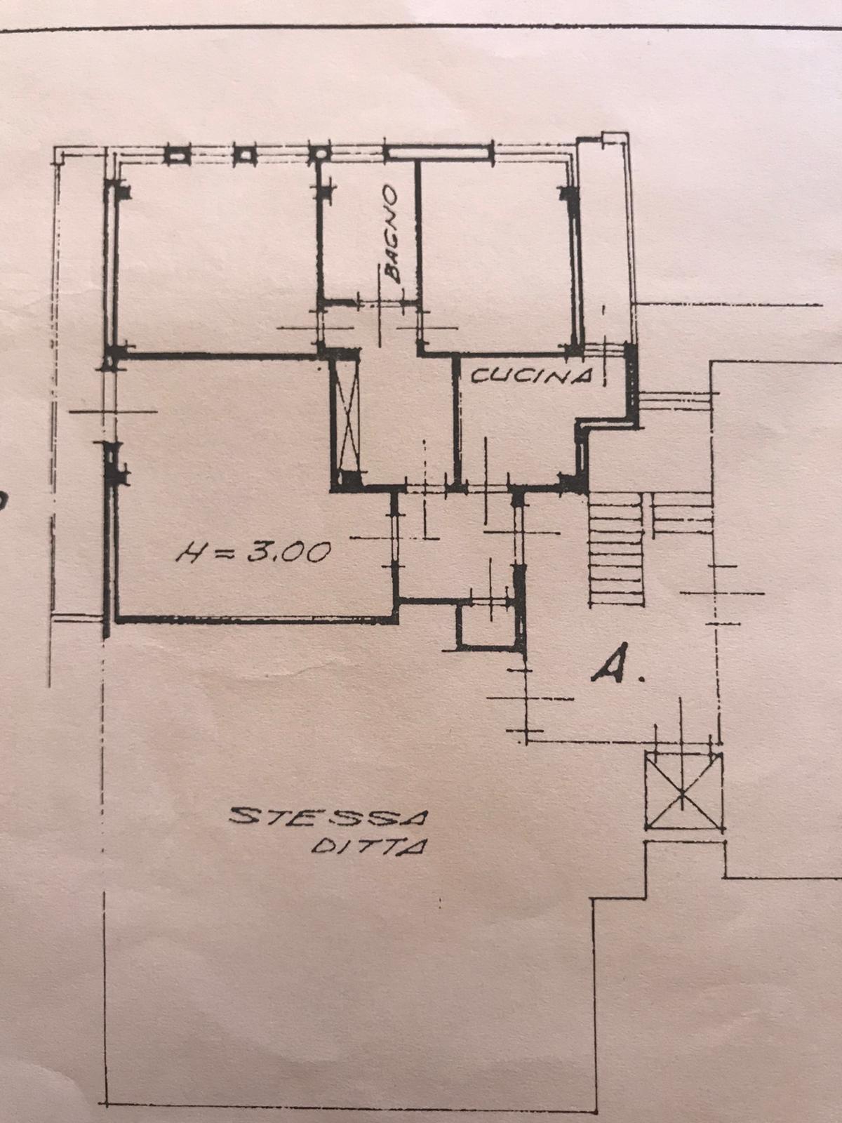 Planimetria 1/1 per rif. C1608