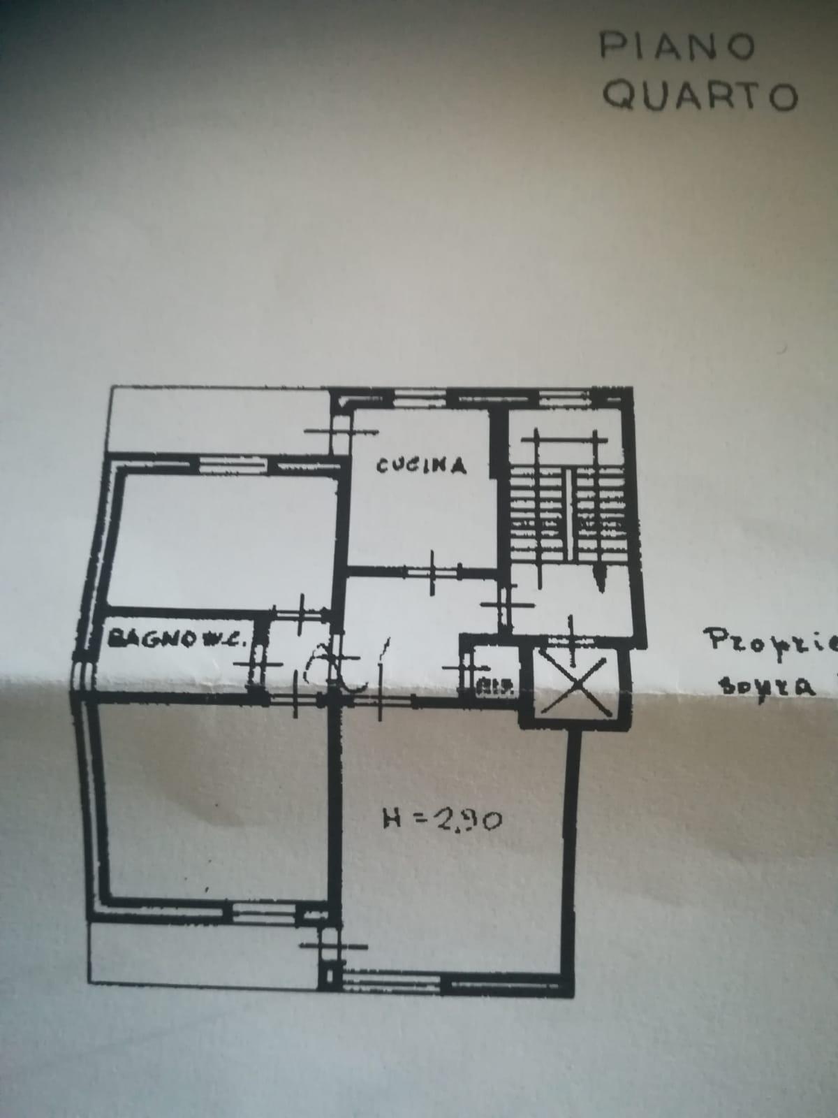 Planimetria 1/2 per rif. L102